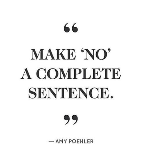 no citazione- imparare a dire no