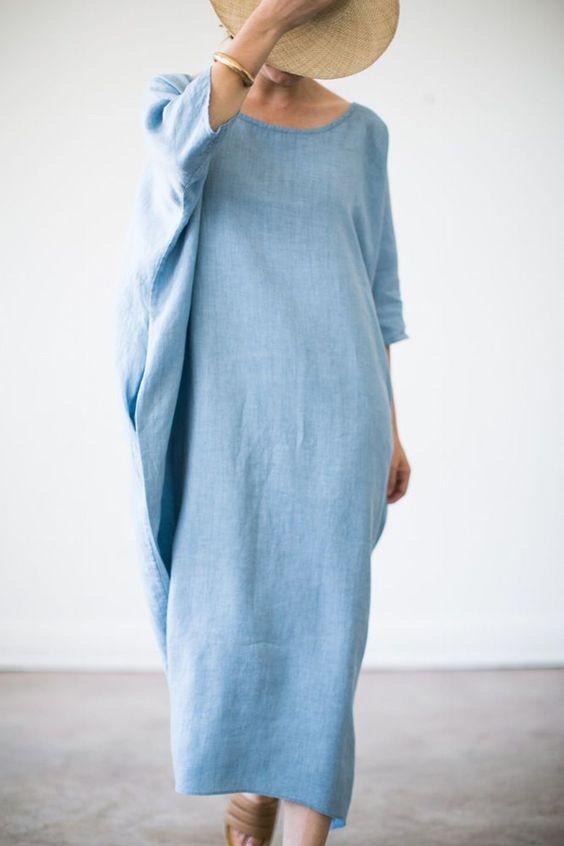 vestiti larghi- gravidanza- nascondere- sembrare
