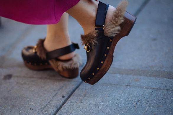 gucci zoccoli pelosi- trendsetter- influecer fur