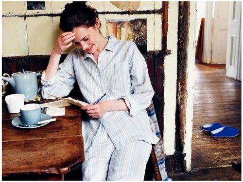 lavorare - studiare- casa- imbrittimento-pigiama