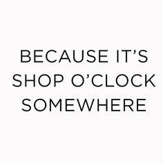 shopping - time- frivolezze