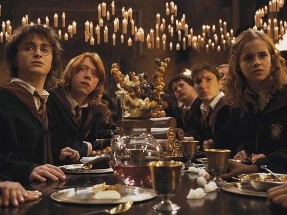 Le tavolate rettangolari non si dice piacere for Comedor harry potter