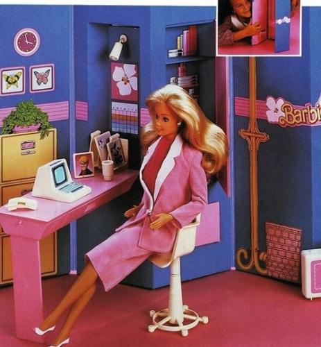 barbie - anni 80- crescere- dolore tacchi