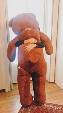 gregorio-pupazzo-orso- camaera bambino