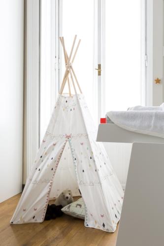 tenda - indiani-sedia-dondolo-design-gravidanza-preparitivi-cosa-serve-cameretta-dalani-baby-culla- riorganizzare spazi