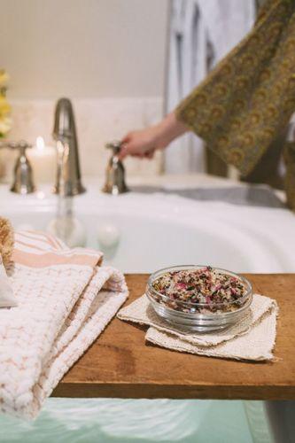 Beauty routine post gravidanza non si dice piacere modi e moda - Bagno in gravidanza ...