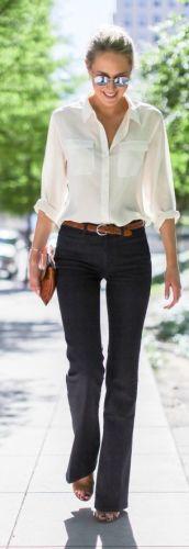 4 camicia-bianca-t shirt-bianco-jeans-abbinamenti-perfetti-classici-intramontabili-chic golf