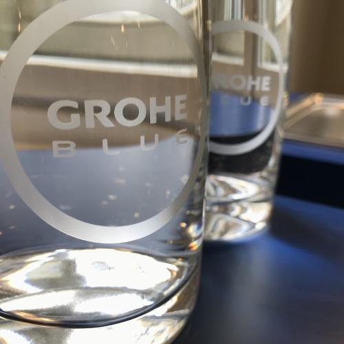 grohe blue perfezione- no plastica- bottiglie- acqua