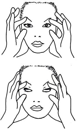 yoga-aveda-viso-adyrveditca- morning-ritual - occhi