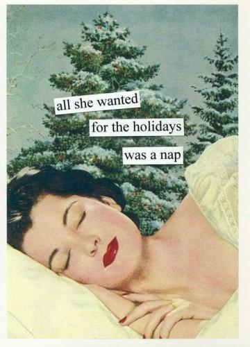 assopimento natalizio- relax- natale- capodanno- pisolino- natale