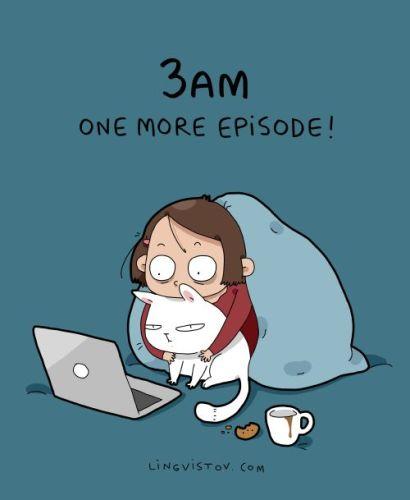 cos è sneaking binge watching netflix- genitori- serie tv - nottata