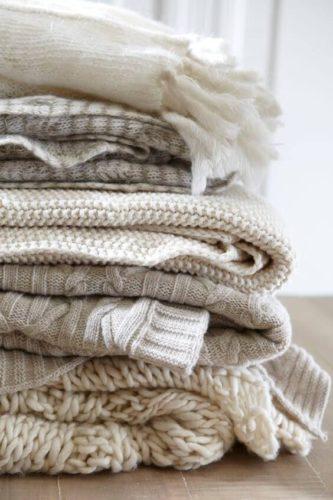 decoro casa inverno dopo natale coperte