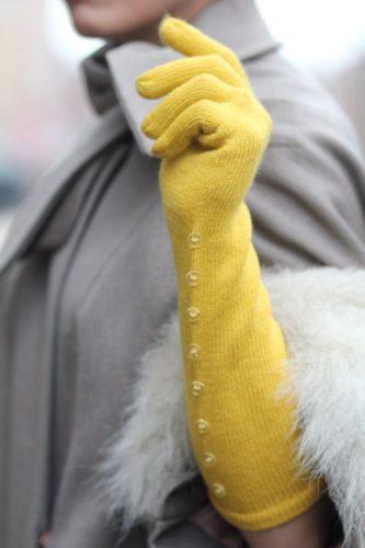 guanti lunghi classe inverno neve