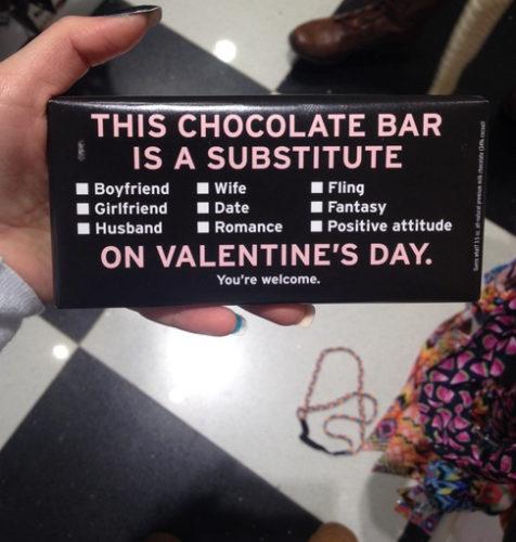 cioccolato single san valentino
