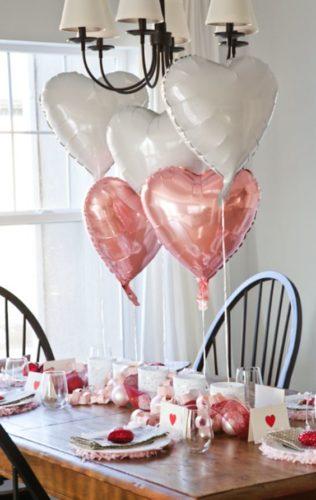 cuori decorazioni san valentino