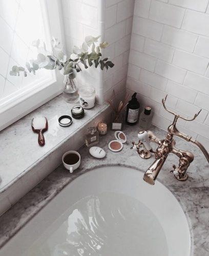 bagno - tempo- per se - prepararsi - san valentino