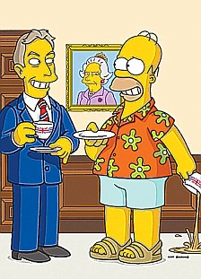 the simpson- bermuda- eleganza uomo
