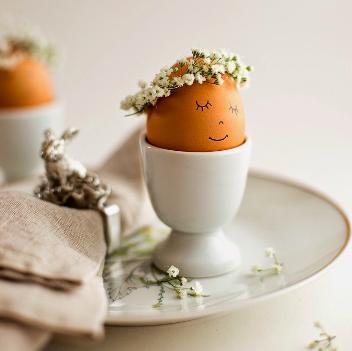 Idee facili per decorare le uova di pasqua non si - Idee per decorare le uova di pasqua ...