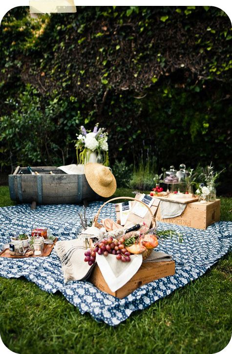 pic nic mise en place galateo chic