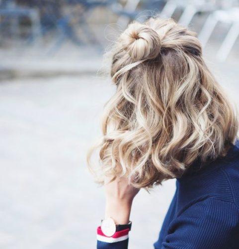 cura capelli lucidi morbidi