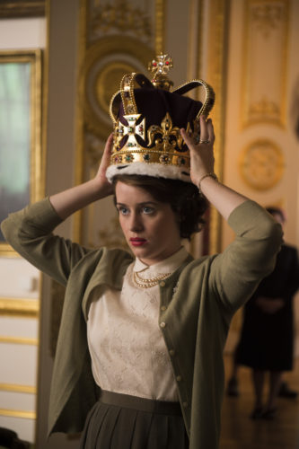 principe- galles- the crown- tessuto - storia