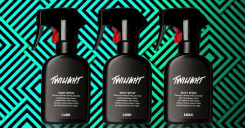lush twilight spray body primavera 2018