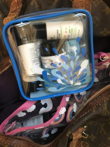 belief - kit- viaggio- palestra borsa sacca