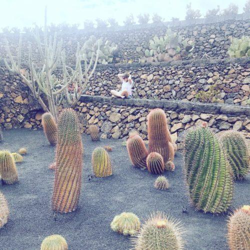 lanzarote- bambini- cactus