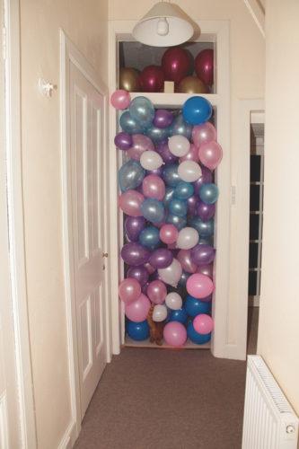 palloncini - sorpresa- paura- viaggio