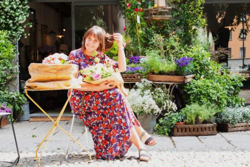 scholl diadema fiori scarpe strasse comode