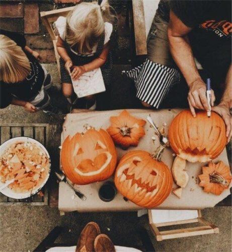 cose da fare ponte liste idee halloween morti ponte intagliare zucche