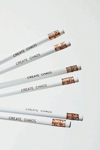 caos-organizzato- fare ordine- trasloco- matite