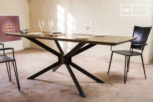 desing-online-tavolo industirale-lampada sospensione stilve vintage casa- pib cuscini