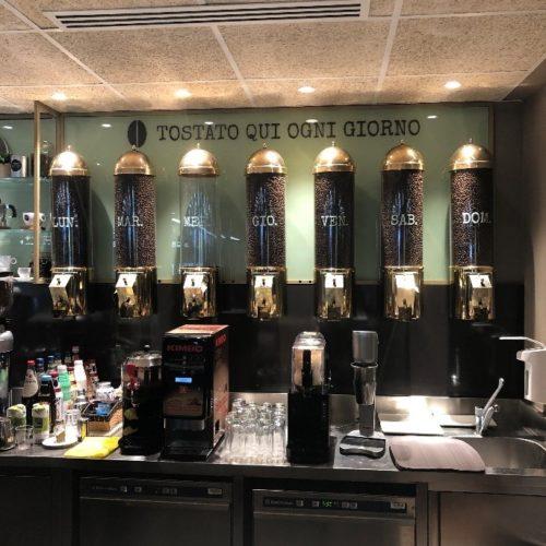 wascoffee- riciclo- economia circolare - fondi caffè - autogrill