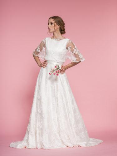 melania fumiko - sposa- abito da sogno- milano su misura tenisone