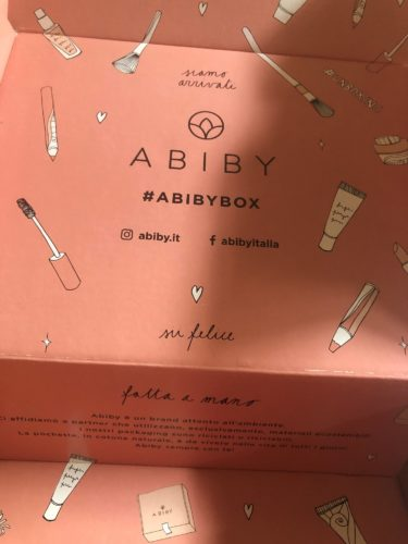 abiby- beauty box- come funziona