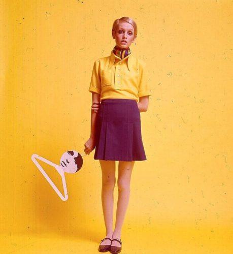 anni 60 stile twiggy