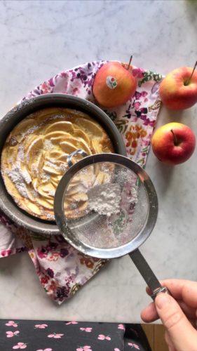Soufflé di Schmarren alle mele