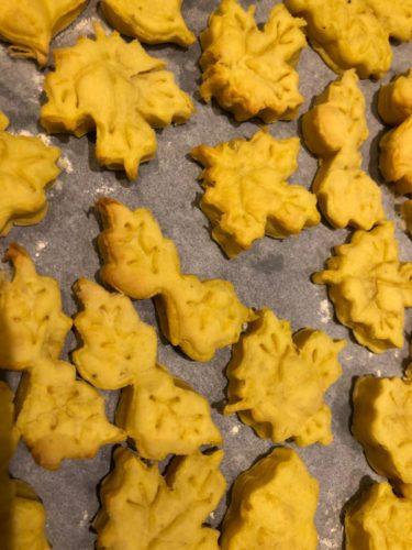 ricette-autunnali-veloce-biscotti-salati -zafferano- robiola-non si dice piacere