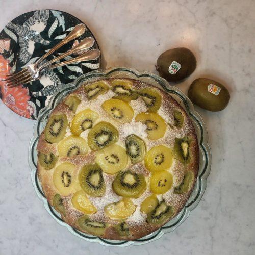 ricetta torta kiwi yogurt facile- non si dice piacere