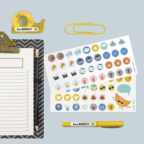 regali personalizzati organizzati etichette