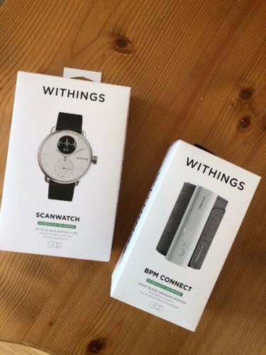 scanwatch- misuratore di pressione -regalo perfetto papà-nonni- digital-health