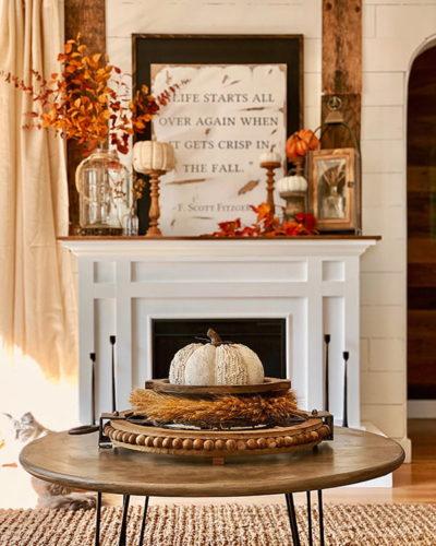 lista cose da fare autunno decorare casa